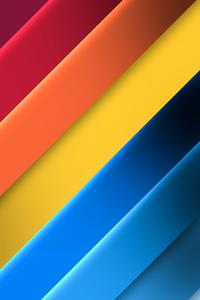 480x854 Bright Color Palette 8k