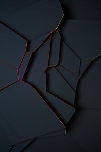 1080x1920 Broken Red 5k