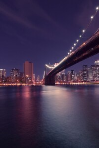 Brooklyn Bridge Manhattan In New York