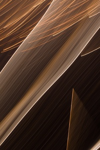 Brown White Paint Abstract 4k