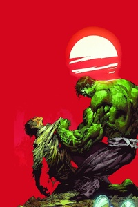 Bruce Banner Vs The Hulk 5k