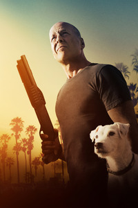 1125x2436 Bruce Willis In Once Upon A Time In Venice 4k