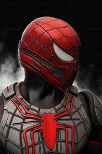 1242x2688 Brutal Spiderman 8k