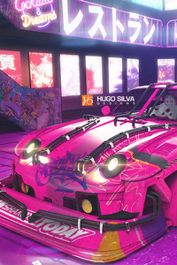 320x568 Bubbalicious Digital Car 4k
