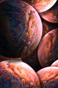 480x854 Bubbles Closeup 5k