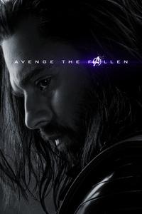 Bucky Barnes Avengers Endgame 2019 Poster