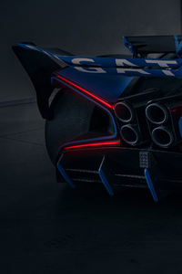 Bugatti Bolide 2021 Rear 5k