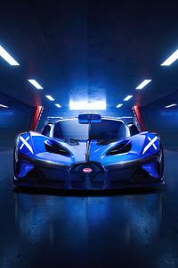 1280x2120 Bugatti Bolide Front Look 4k