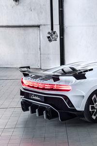 Bugatti Centodieci 2020 Rear View
