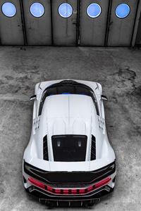 Bugatti Centodieci 2020 Upper View 8k