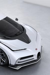 Bugatti Centodieci 2020 Upper View
