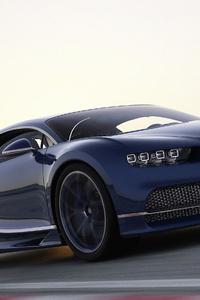 1440x2560 Bugatti Chiron 2019 Front