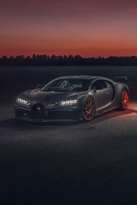 540x960 Bugatti Chiron 8k 2020