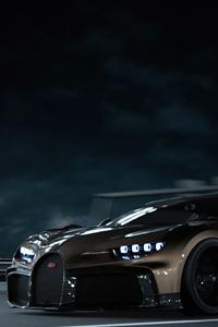 800x1280 Bugatti Chiron Cgi 8k
