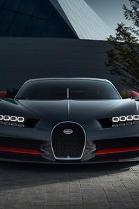 Bugatti Chiron CGI Front