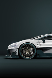 Bugatti Chiron GT Side View