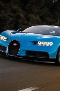 Bugatti Chiron Motion Blur