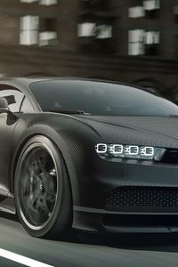Bugatti Chiron Noir Matt 5k
