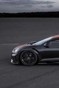 Bugatti Chiron Prototype 2019 Side View