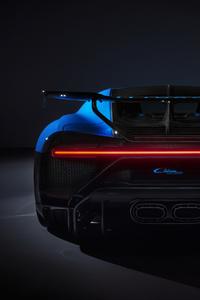 Bugatti Chiron Pur Sport 2020 Rear View