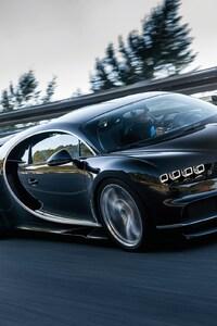 480x800 Bugatti Chiron Super Car
