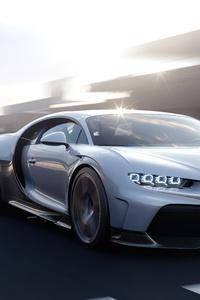 640x1136 Bugatti Chiron Super Sport High Speed 5k