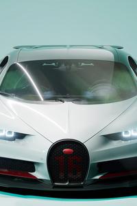640x960 Bugatti Chiron UE4 4k