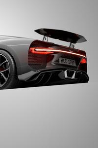 1440x2960 Bugatti Chiron UE4 Cgi Art 4k