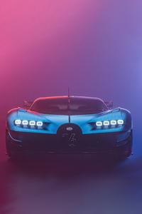1080x2160 Bugatti Chiron Vision Gt Cgi 8k