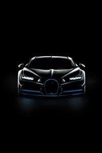 800x1280 Bugatti Chiron Vision Oled