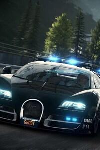 Bugatti Cop Car