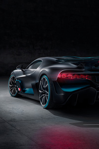 Bugatti Divo 2018 Rear View