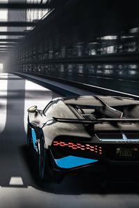 Bugatti Divo Bridge 4k 2018