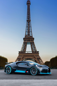 Bugatti Divo In Paris France