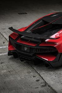 Bugatti Divo Red Performance Rear