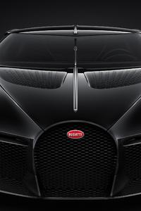 240x320 Bugatti La Voiture Noire 2019 Front