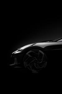 Bugatti La Voiture Noire Side View Concept