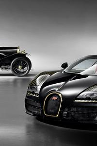 Bugatti Old And New