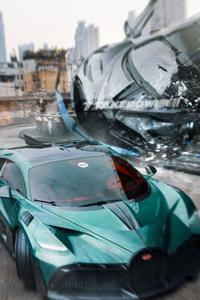 1440x2960 Bugatti Takedown 4k