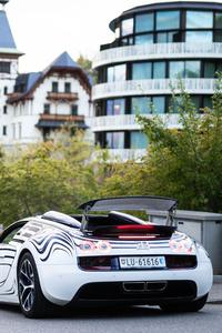 Bugatti Veyron Grand Sport Roadster Rear 5k