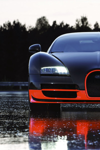 1280x2120 Bugatti Veyron Super Sport World Record Edition 4k
