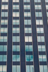 1440x2560 Building Windows Grid Abstract