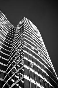 1080x2280 Buildings Architecture Monchrome 4k