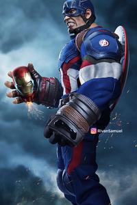 Bulky Captain America