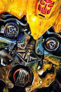 Bumblebee Artwork 4k