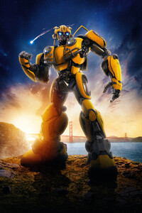 1080x2280 Bumblebee Movie 8k 2018