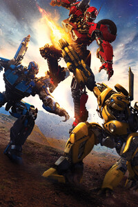 640x1136 Bumblebee Movie 8k Movie