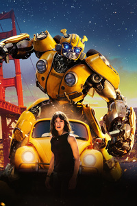 1080x2280 Bumblebee Movie 8k