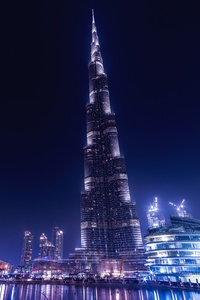 Burj Khalifa Dubai Night