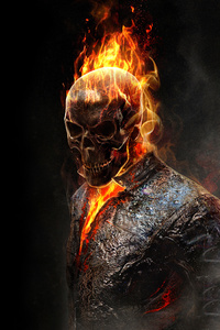540x960 Burning Ghost Rider